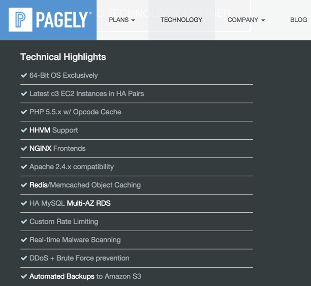 pagely technology