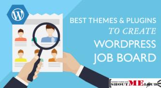 10 Best Themes & Plugins to Create WordPress Job Board