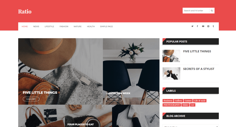 10 Premium Looking Blogger Templates Of 2019 Most Are Free