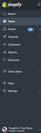 Shopify Admin Controls