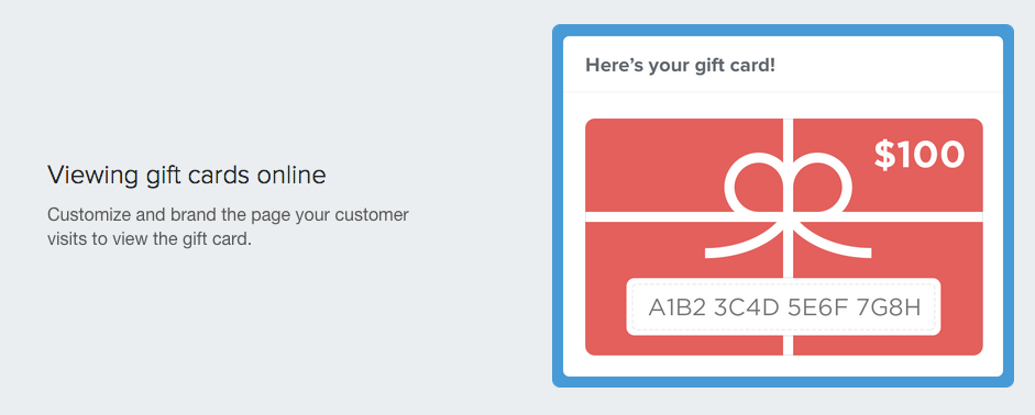 Shopify gift card creator