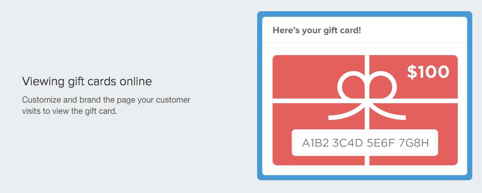 Shopify gift card creator