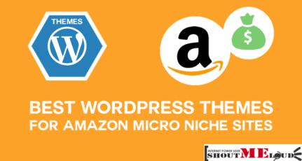 4 Best Amazon Niche Site WordPress Themes