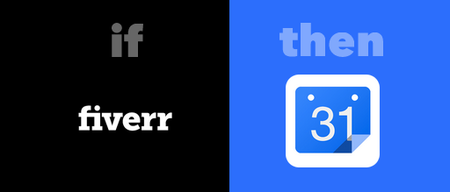 Add Fiverr Orders to Google Calendar