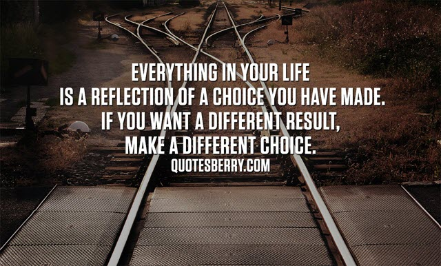 Decision Making in Life with travel