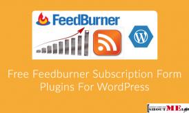 3 Free Feedburner Subscription Form Plugins For WordPress