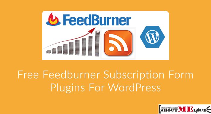 3 Free Feedburner Subscription Form Plugins For WordPress