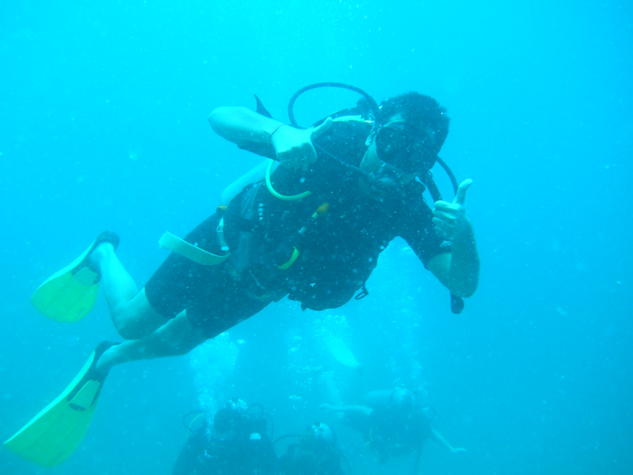 Harsh Agrawal Scuba Diving