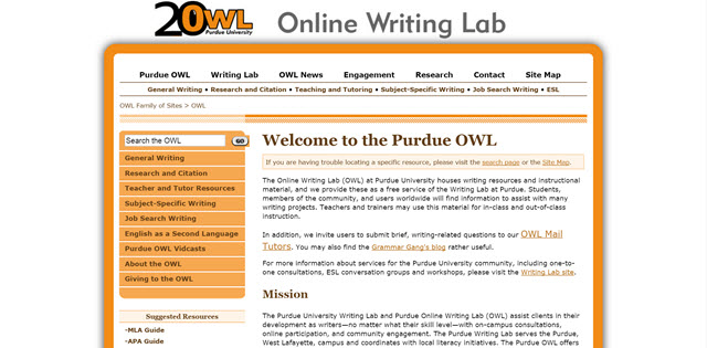 owl at purdue writing a thesis