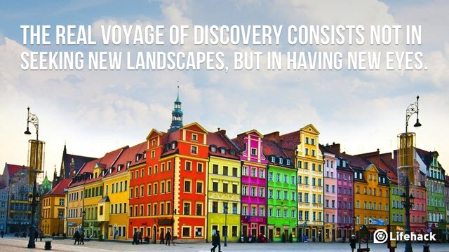 The real voyage of discovery