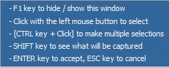 Window Capture Instructions