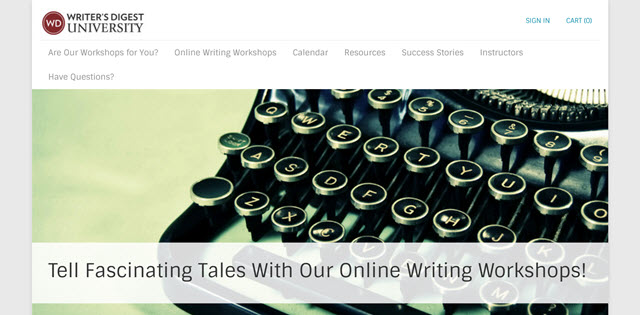 Writers digest online classes
