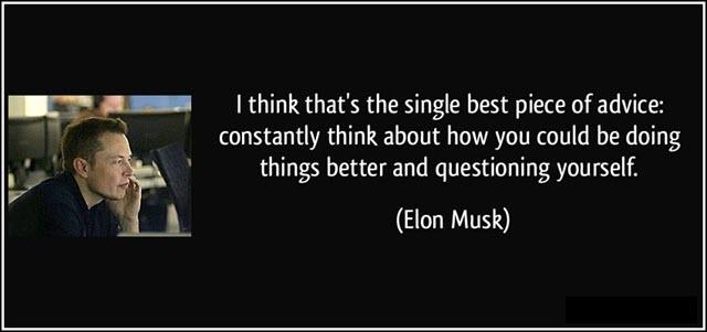Elon Musk Best piece of advice