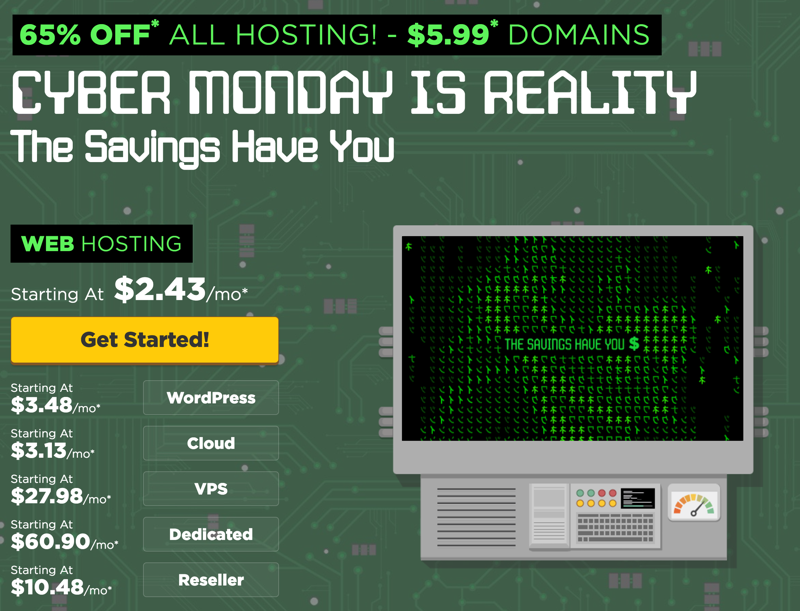 hostgator-cyber-monday-discount