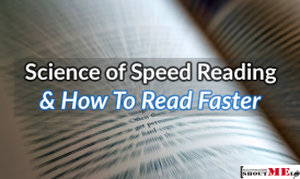 The Science Of Speed Reading & How To Read Faster & Save Time