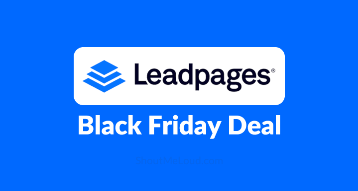 $2,500 Worth Of Online Marketing Courses Free With Leadpages – Black Friday Deal