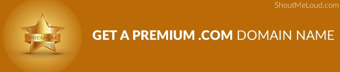 Premium .com Domain Name
