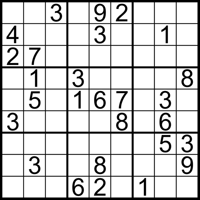 Canny image for sudoku for beginners printable