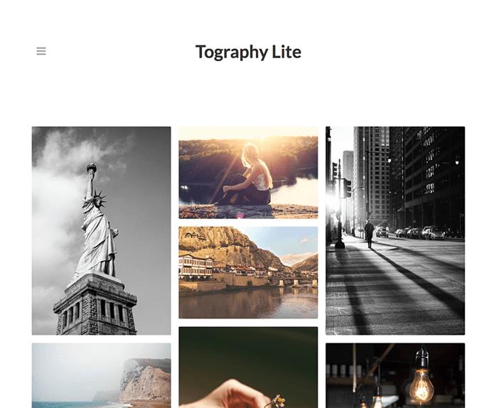 Toagraphy Lite WordPress Theme