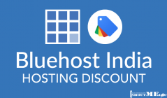 Bluehost India Hosting Discount: 50% off