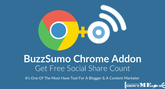 BuzzSumo Chrome Addon