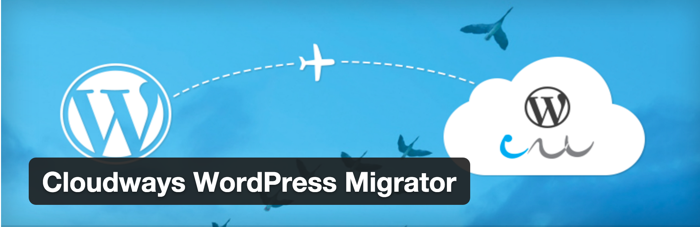 Cloudways WordPress migrator plugin