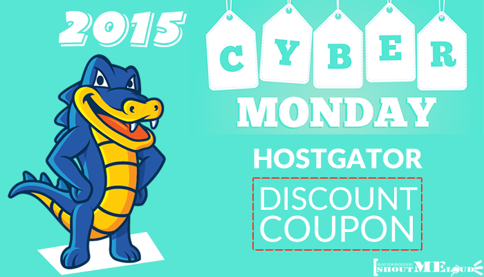 Hostgator Cyber Monday Discount Coupon 2015