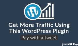 How to Get More Traffic Using Pay With a Tweet WordPress Plugin