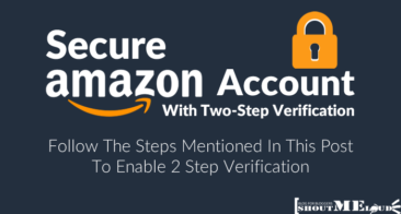 How To Secure Amazon Account With Two-Step Verification