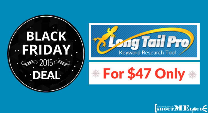 Long Tail Pro BlackFriday Deal