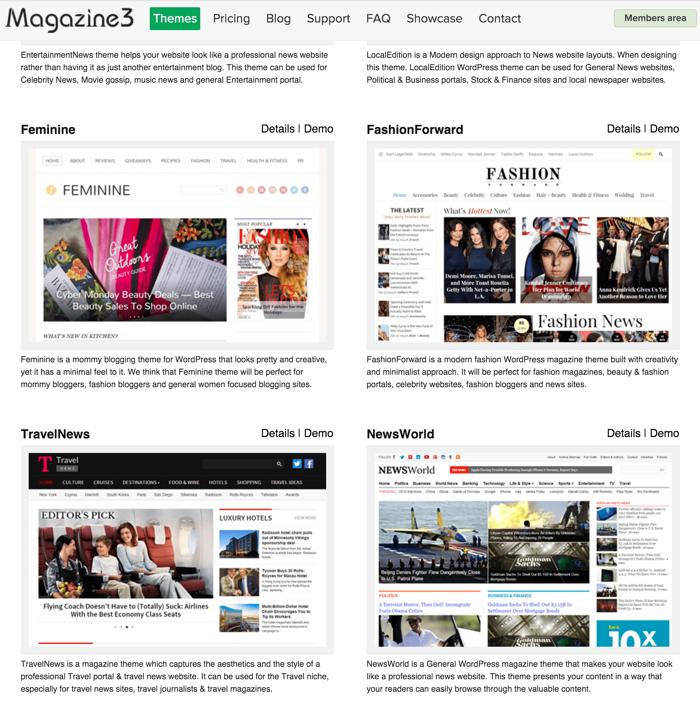 WordPress themes BlackFriday deals