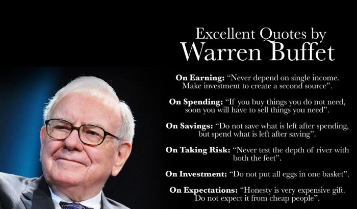 Making money quote by Warren buffet
