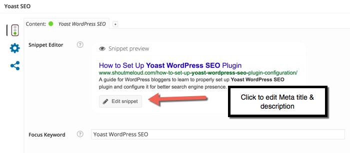 Yoast WordPress-Plugin konfigurieren