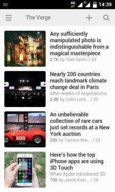 Feedly-Android-app