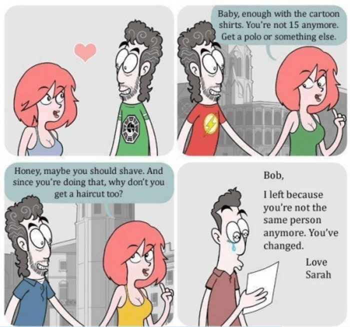 People do not want us to change