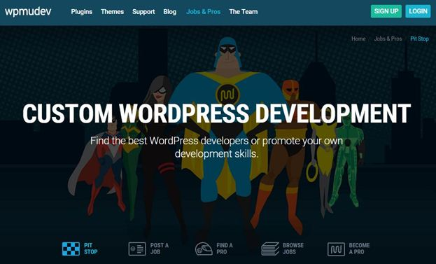 Job board on WordPress