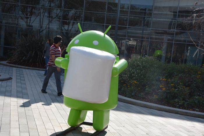 Android with Marsh mallow