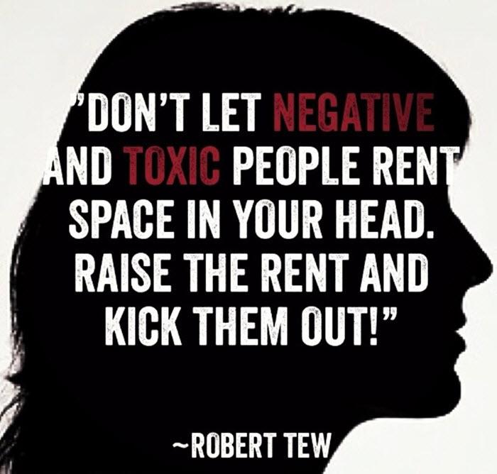 Avoid toxic people quote