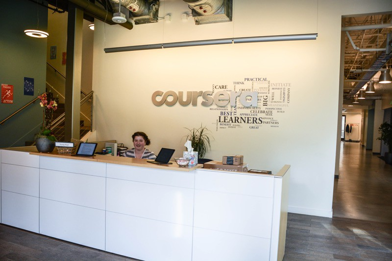 Coursera Front desk