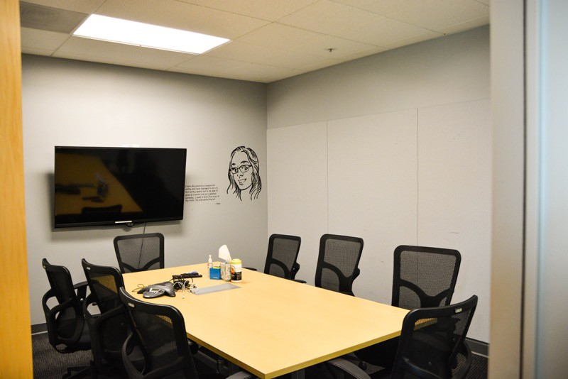 Coursera meeting room