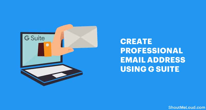 Create Email Address using G Suite