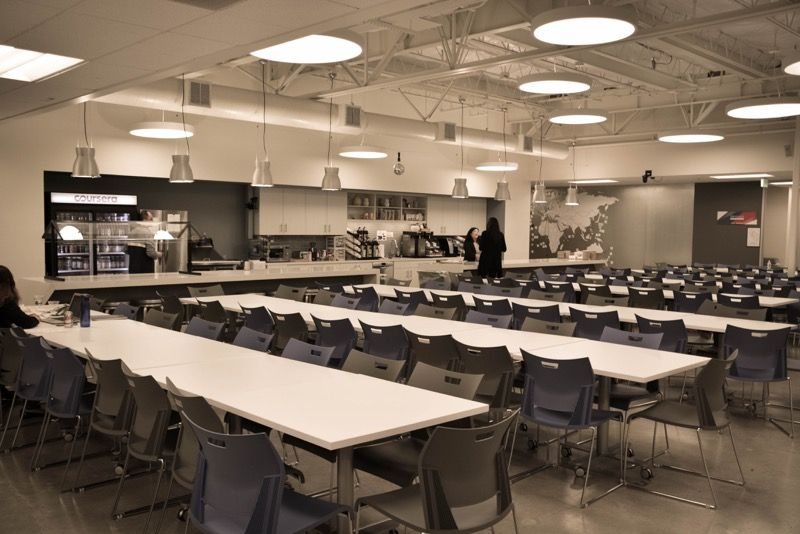 Coursera Cafeteria
