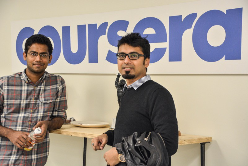 Coursera Startup office tour