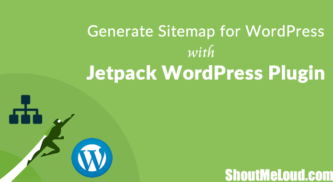 Generate Sitemap for WordPress with Jetpack WordPress Plugin