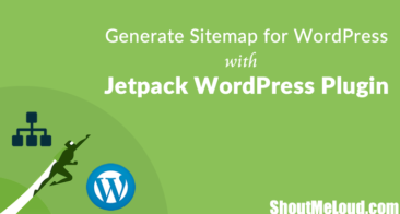 How To Generate Sitemap for WordPress with Jetpack WordPress Plugin