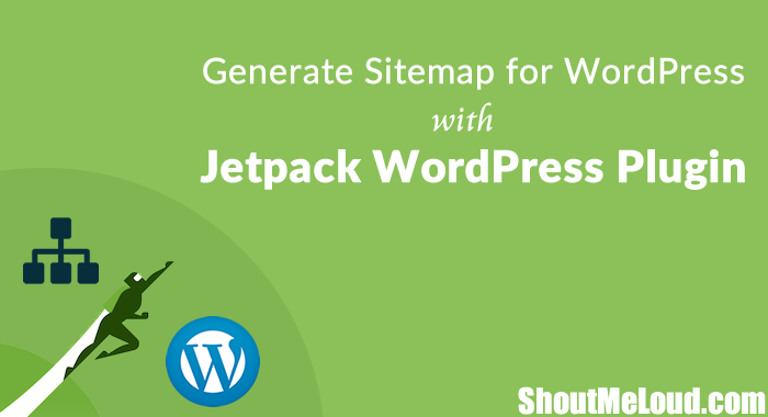 how to generate sitemap for wordpress with jetpack wordpress plugin