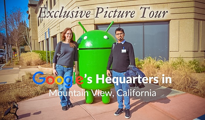Exclusive Picture Tour of Google's Headquarters in Mountain View, California