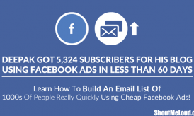 How I Got 5,324 Subscribers for my Blog Using Facebook Ads in Less than 60 Days