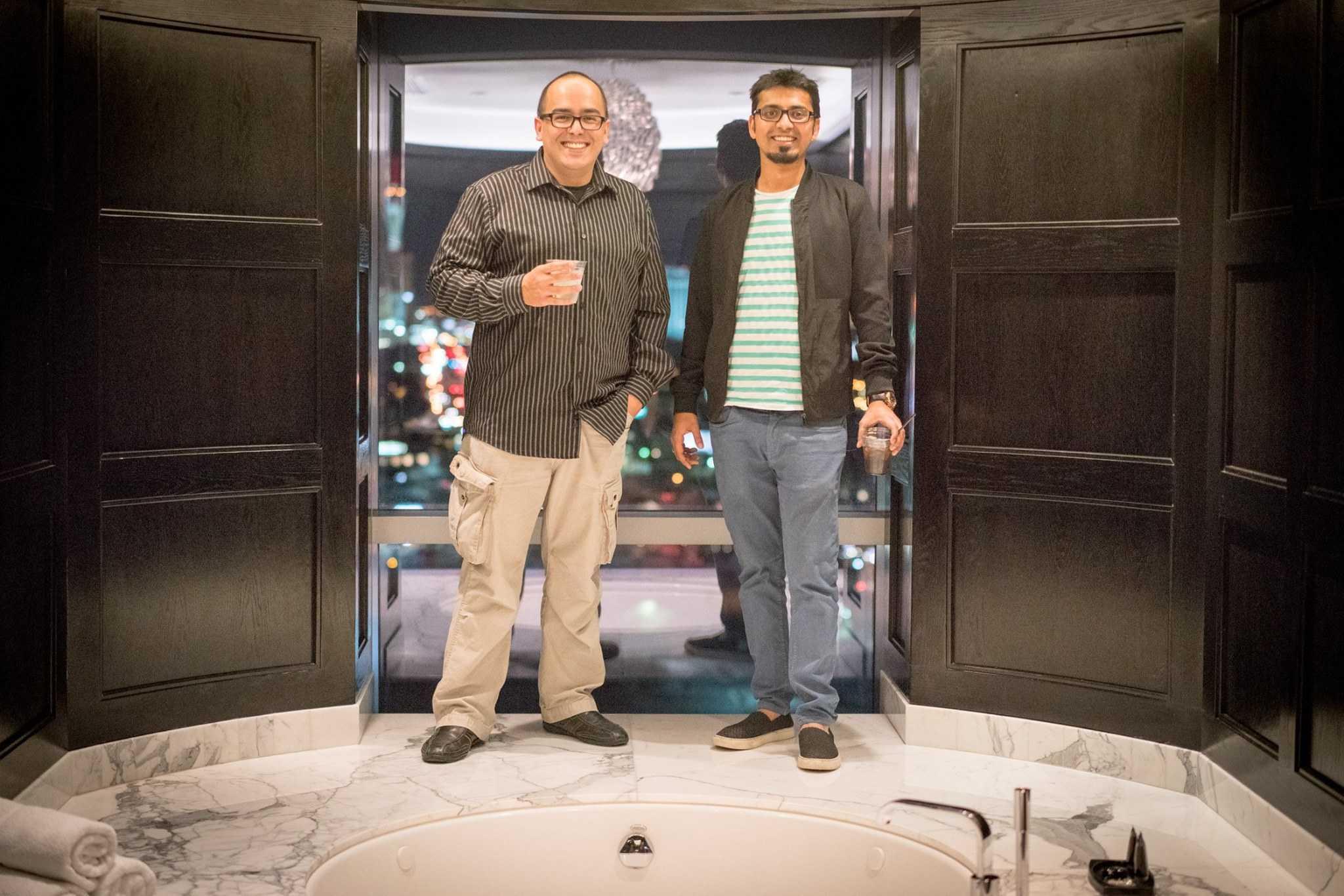 Harsh Agrawal and Oscar tech