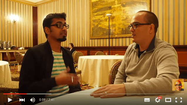 Harsh Interview at Affiliate Marketing Summit 2016 Las Vegas